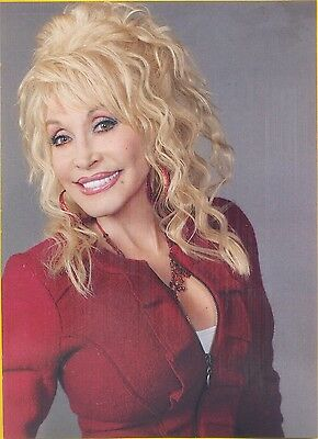 "Dolly Parton, Country Music Star in 2014 Magazine Print Clipping, ""Legends"""
