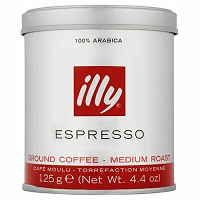 illy Classic Roast Ground Coffee 125 g  Pack of 3