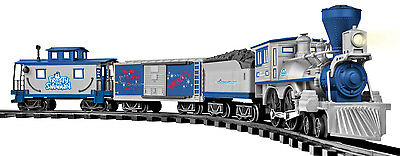 LIONEL 7-11498 G SCALE Battery Remote Operated Frosty The Snowman Train Set