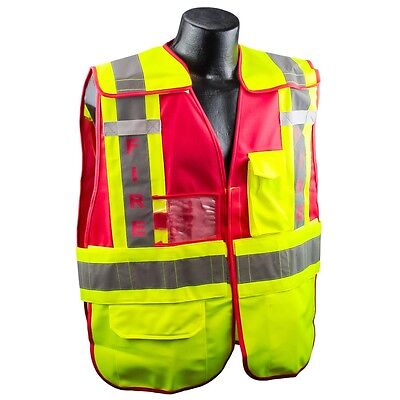 Full Source Reflective FIRE Public Safety Vest