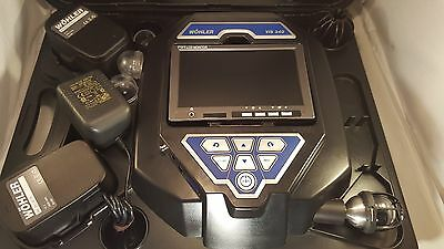 Wohler VIS 340 Visual Inspection Camera - Push / Pipe Camera tested working