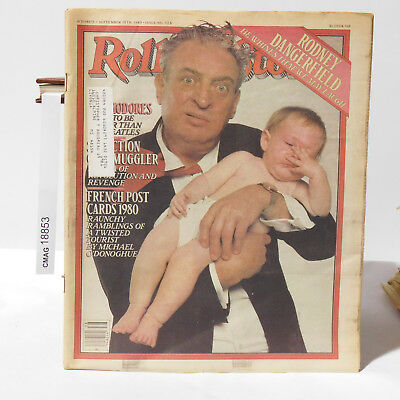Rodney Dangerfield ROLLING STONE MAGAZINE Issue 326 September 18 1980 Commodores