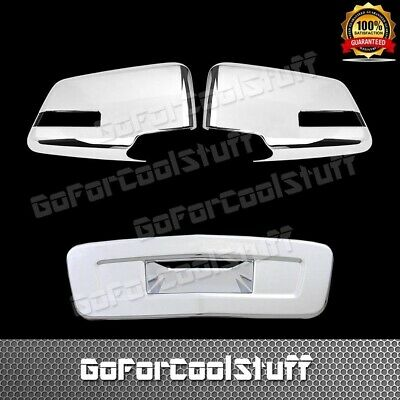 For 2009-2011 Chevrolet Traverse Chrome Cover Combo Mirror + Tailgate Cover