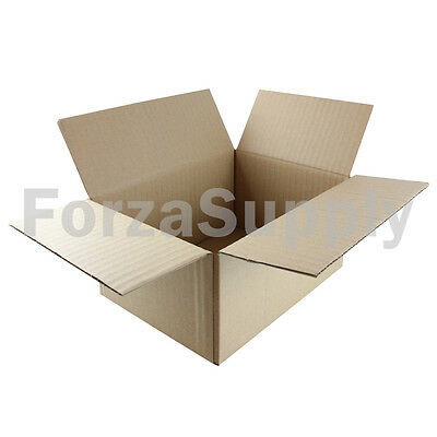 "1 8x6x4 ""EcoSwift"" Brand Cardboard Box Packing Mailing Shipping Corrugated"