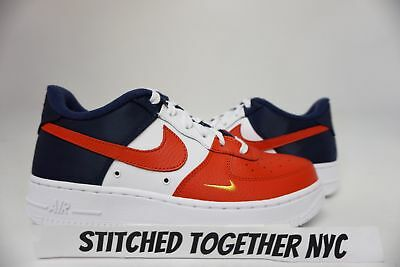 (820438-603) Gs Youth Nike Air Force 1 Lv8 University Red/blue/midnight Navy/wht