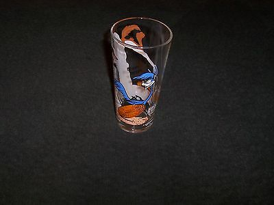 Drinking glass--Roadrunner/coyote--Pepsi 1976 collector series