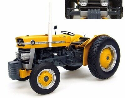 Massey Ferguson 135 Industrial Tractor Exact Scale 1/16 Brand New