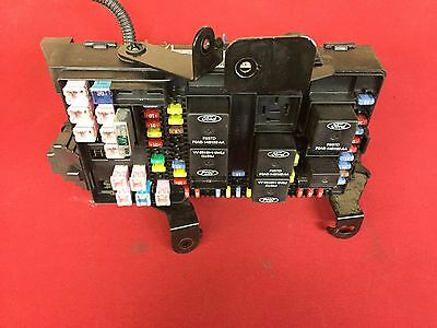 2005 05 Ford F150 F-150 Truck Interior Under Dash Fuse Relay Box 5C3T-14A067-Ad