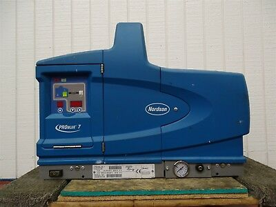 Nordson 1022233A Pro Blue 7 Hotmelt Adhesive Applicator 1/3 Ø 200-240V 50/60HZ
