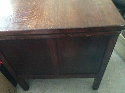 Beautiful antique solid wooden writing desk, over 100 years old