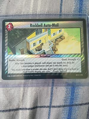 Rockbell Auto-Mail 5/5 Holo Full Metal Alchemist Card NM