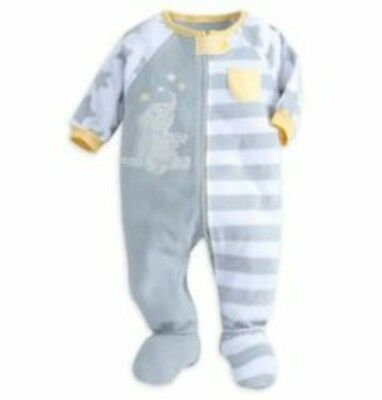 Disney Baby Dumbo Sleeper!!! Size 0-3 months- New w/ tags!!! Adorable and Cozy!
