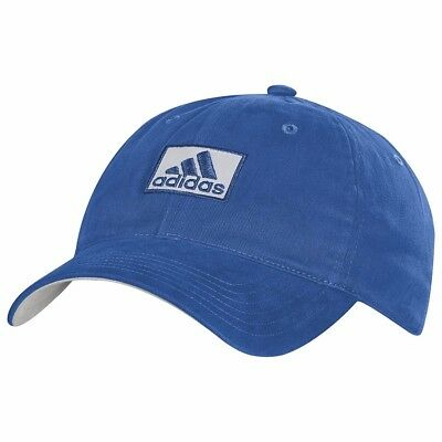 c4600c567a5 NEW ADIDAS COTTON Relaxed Fit Hat Cap Adjustable Royal Blue -  15.49 ...