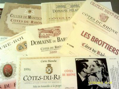 175 different from various RHONE AOCs Lot C4 (see list)