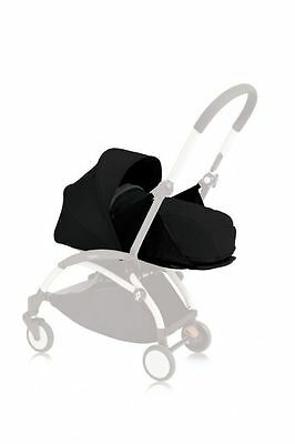 YOYO+ Newborn Bassinet Pack Only - Black | Compact Pop-Up Canopy Pram Stroller