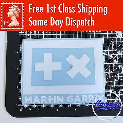 "Martin Garrix Vinyl Decal Sticker DJ EDM 4.5"" x 3.5"""