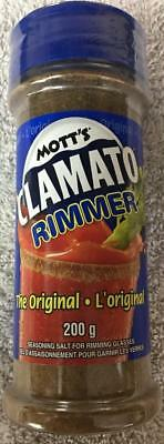 3 Bottles Motts Clamato Rimmer Seasoning Salt for Rimming Glasses 200gx3=600g