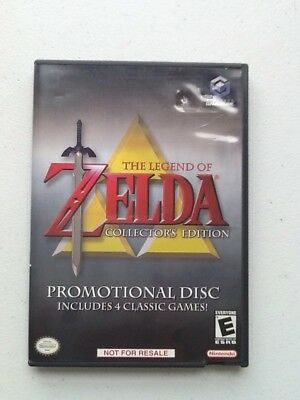 Legend of Zelda Collectors Edition Nintendo Gamecube Complete Tested & Working!