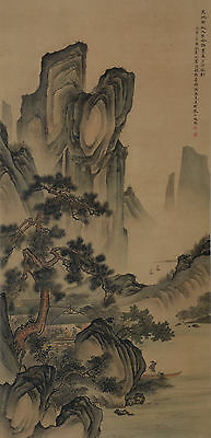 Excellent Chinese Scroll Painting  By Chen ShaoMei P:031-1 陈少梅