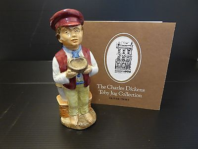 The Charles Dickens Oliver Twist Toby Jug by Wood & Sons England 1979
