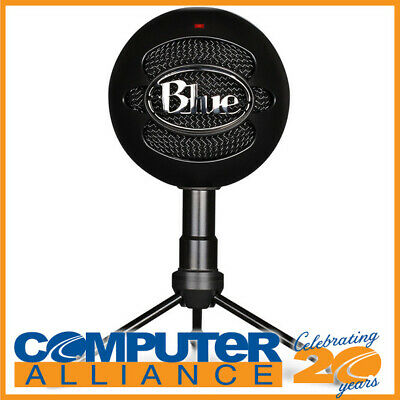 Blue Snowball ICE Black USB Microphone 836213001929