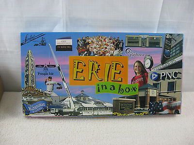 Erie in a Box Property Tradding Board Game By Late For the Sky-New & Sealed