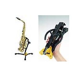 Hercules DS630BB Portable Sax Stand With Bag