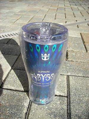 New Sealed Royal Caribbean Cruise Line Harmony Coke Travel Cold Drink Cup Abyss