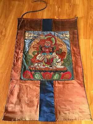 Mongolian Buddhist Old APPLIQUE 19 century