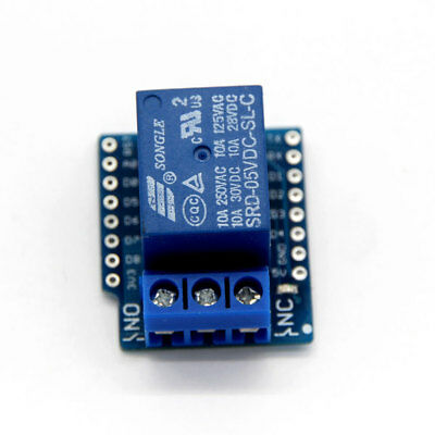 Relay Shield Boards 5V For WeMos D1 Mini Electronics Development Boards Part