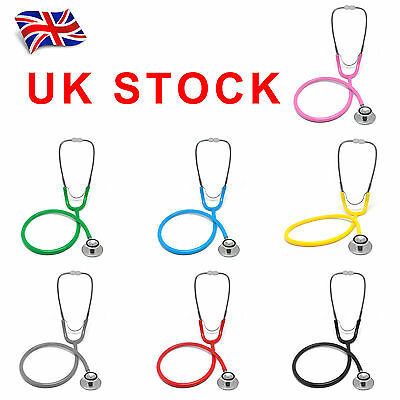 UK Pro Dual Head EMT Stethoscope Doctor Nurse Vet Medical Student Health Blood