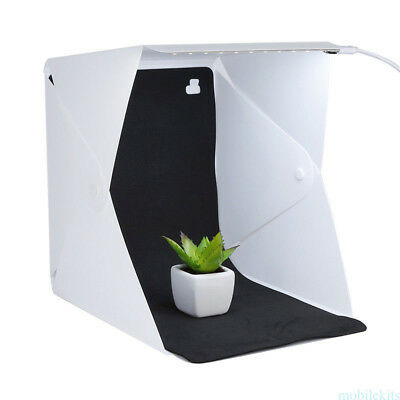 Photo Studio Lighting Box Photography Backdrop LED Mini Lightroom Portable Light