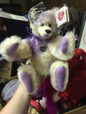 Limited Edition I Love Lucy #53/200 Signed Sally Winey Mohair Bear.