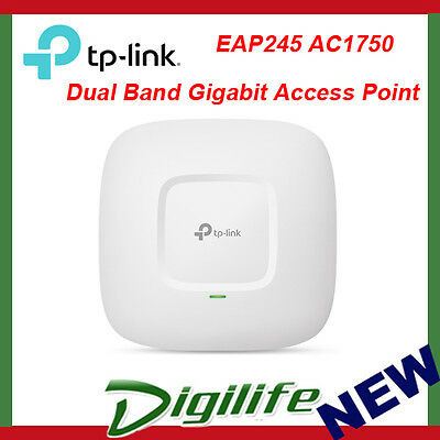 TP-Link EAP245 AC1750 Wireless Dual Band Ceiling Mount Access Point