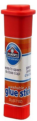 ELMERS Early Learners Washable Glue Stick, .77 Oz., Pack of 12 Sticks E4055