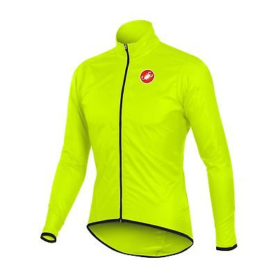 Castelli 2017 men squadra long jacket yellow fluo (4510504-032)
