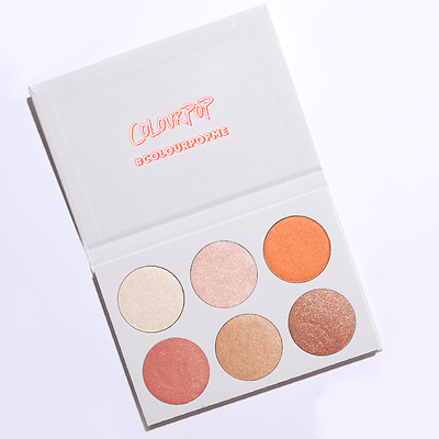 100% AUTHENTIC !! Colourpop Highlighter Palette - GIMME MORE