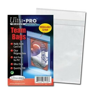 5000 TEAM BAGS Ultra Pro 50x Packs of 100 Resealable Card Protectors NEW