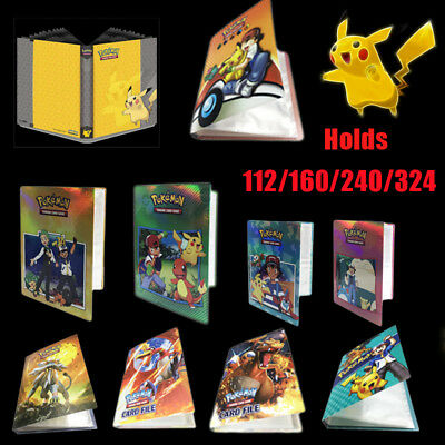 Ultra Pro Pokemon Pikachu Portfolio/ Folder/ Album/ Binder - Holds 112/240 Cards