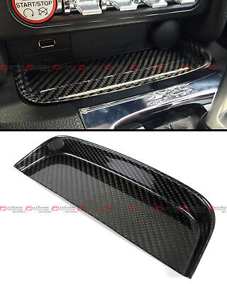 For 2015-2017 Ford Mustang S550 Gt Real Carbon Fiber Change Coin Tray