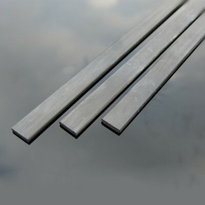 Carbon Fibre Square Sheets Length 200mm To 400mm x 0.5mm To 2mm Width