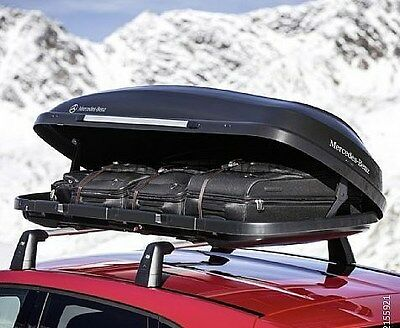 520l car roof locking storage box opens both sides for Mercedes benz roof box 450 dimensions