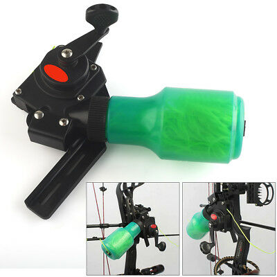 Bow Archery Fishing Spincast Reel for Compound and Recurve Bow,Shooting Tool