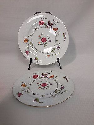 Crown Fine Bone China Birds of Paradise Pattern #592627 Dinner Plates 2