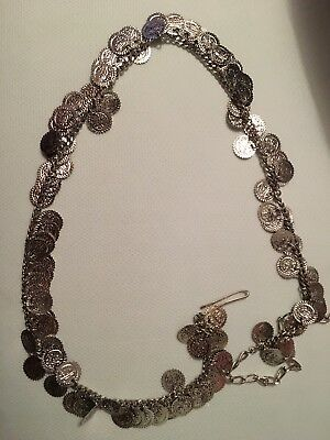 Silver Colour Belly Dancing Chain Free Post (l)