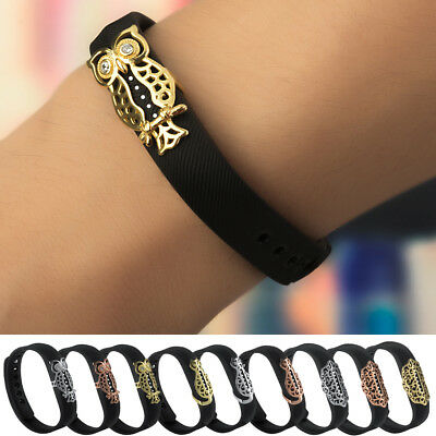 2017 New Jewelry Metal Cover Ring Case Holder For Fitbit Flex 2 Bracelet Band