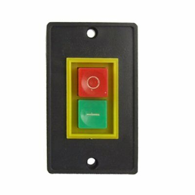 QCS1 On Off Start Stop Flush Mount Push Button Switch 2KW for Electric Tool