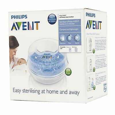 Philips AVENT Microwave Steam Sterilser Quick Lightweight & Compact BPA Free