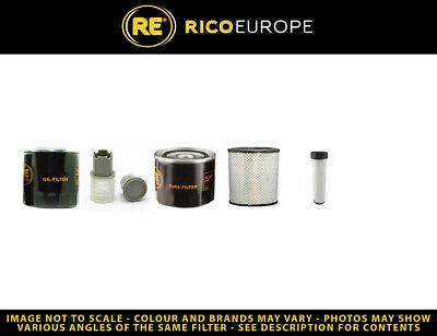 Volvo ECR58D Filter Service Kit Air, Oil, Fuel Filters