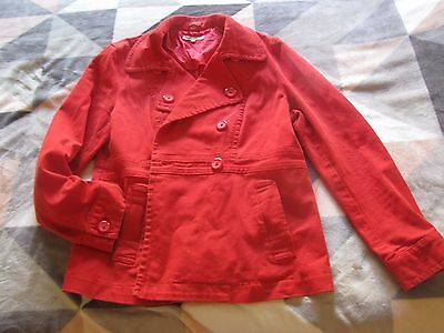 RETRO LAURA ASHLEY DENIM STYLE LADIES JACKET Size 14